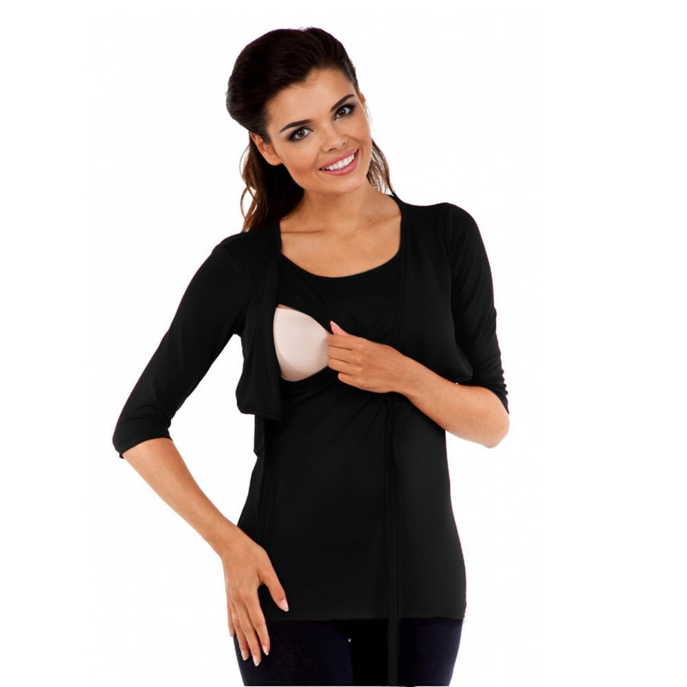 3/4 Sleeve Nursing Top